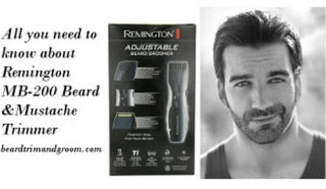 Remington MB200 beard trimmer