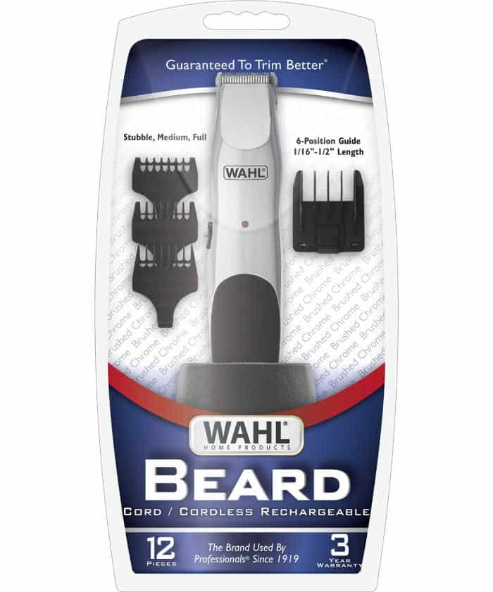 wahl 9918 6171 groomsman beard and mustache trimmer review. Black Bedroom Furniture Sets. Home Design Ideas