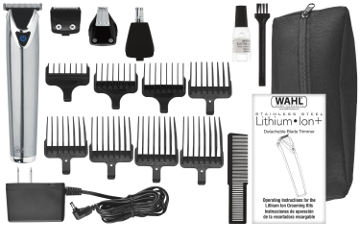 Wahl 9818 Litium Ion stainless steel All-in One groomer