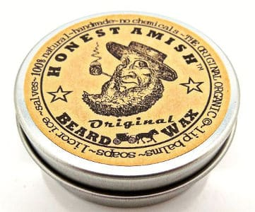 Honest Amish Original Beard Wax All Natural And Organic