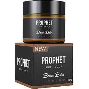 Prophet and Tools 2 IN 1 Deluxe White Beard Balm-Wax For Styling Beard