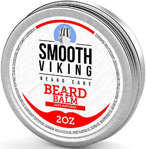 Smooth Viking Beard Balm, Leave in Wax For Men