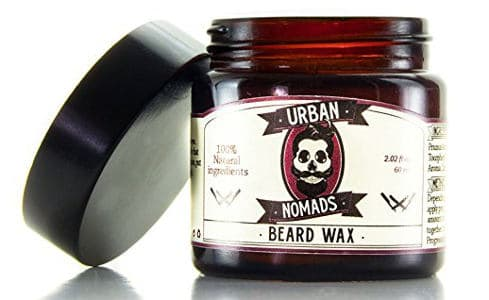 Urban Normads Best Beard Balm & Wax - Smooth Shea Butter &Argan Oil