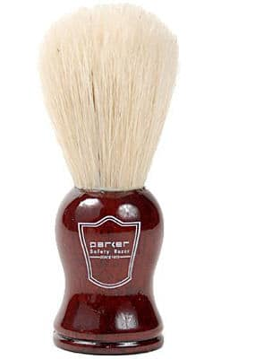 Parker 100% Boar Bristle Shaving Brush With Rosewood Handle