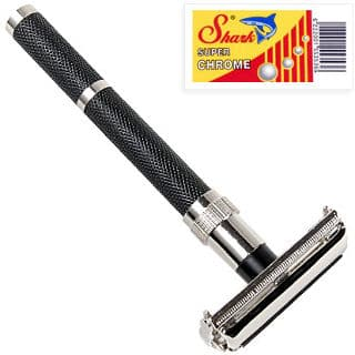 Parker 96R-Long Handle Butterfly Open Double Edge Safety Razor