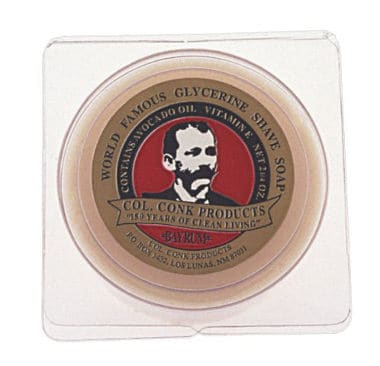Colonel Conk World's Famous Shaving Soap Bay Rum