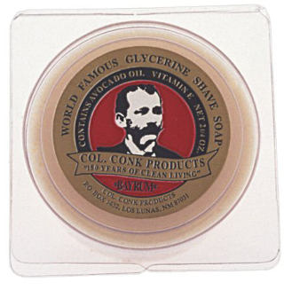 Col. Conk World's Famous Shaving Soap Bay Rum