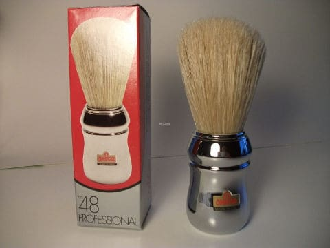 Omega Shaving Brush 10048 Boar Bristle Brush