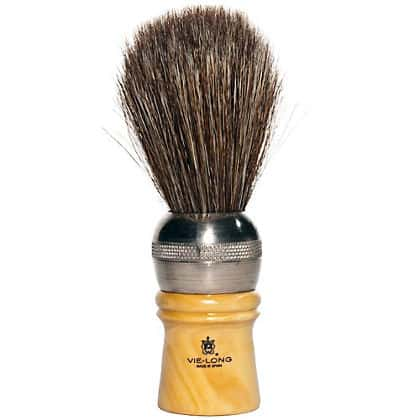 Vie-Long 04312 Professional Horse Hair Shaving Brush