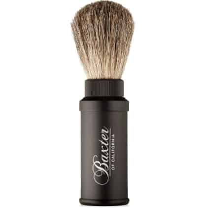 Baxter Of California Badger Travel Shave Brush