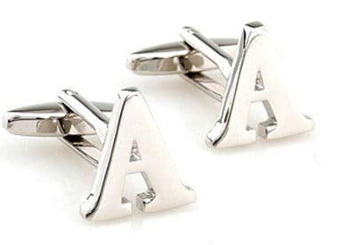 Initial Cufflinks (alphabet) by Men's Collection