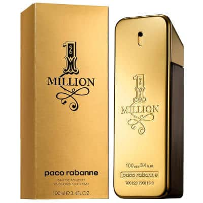 1 Million Cologne By Paco Rabanne For Men Edt Spray