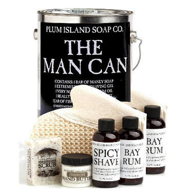 The Man Can All Natural Bath And Body Gift Set