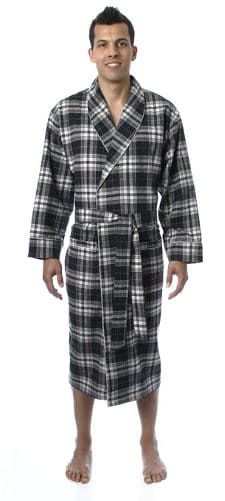 Men's lightweight flannel robes