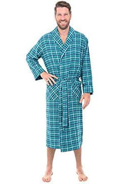 del-rossa-mens-flannel-robe-soft-cotton-bathrobe-robe