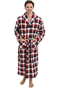 del-rossa-mens-flannel-robe