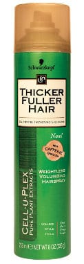 Thicker Fuller Hair Weightless Volumizing Hair Spray