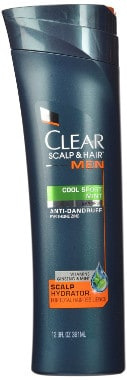 Clear Men Scalp Therapy Shampoo Cool Sport Mint Anti-Dandruff Shampoo