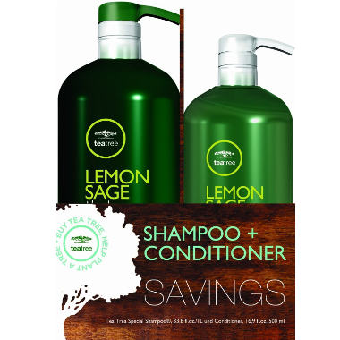 Paul Mitchell Tea Tree Lemon Sage Thickening Shampoo And Conditioner