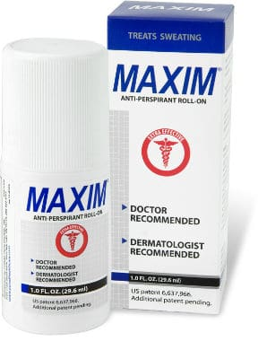 Maxim Prescription Strength Antiperspirant Deodorant