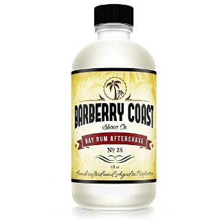 Bay Rum Aftershave Splash For Men by Barberry Coast