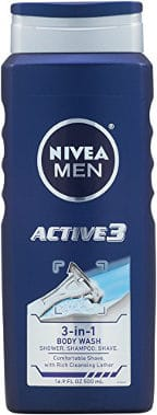 Nivea For Men Active3 Body Wash
