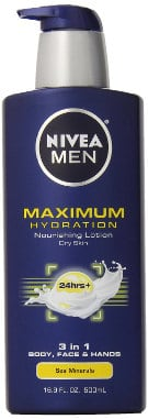 Nivea For Men Maximum Hydration Nourishing Lotion for Dry Skin