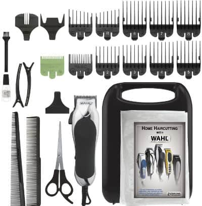 Wahl 79524-2501 Chrome Pro 24 Piece Haircut Kit