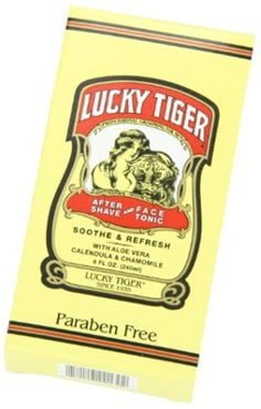 Lucky Tiger Aftershave And Face Tonic
