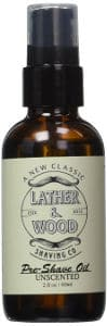 Lather and Wood Best Pre-Shave Oil