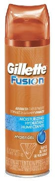Fusion Moisturizing Shaving Gel for Men