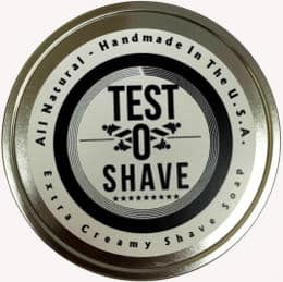 TestOShave! Best Shaving Soap with Testosterone Booster