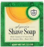 Glycerin Shave Soaps