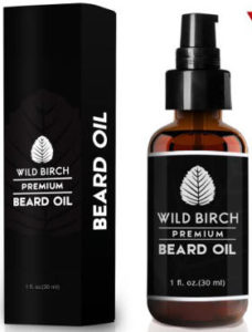 Wild Birch Body Care Beard Oil and Beard Conditioner