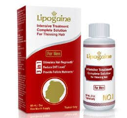 Lipogaine for Men Intensive Treatment & Complete Solution for Hair Regrowth