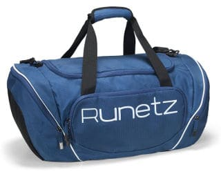 Runetz Large Athletic Sport Shoulder Bag for Men & Women