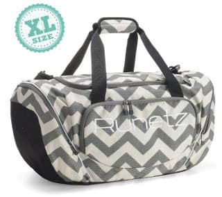 Runnetz Extra Large Chevron Gym Bag