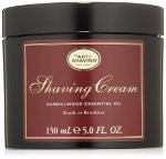 Sandalwood shaving creams