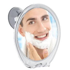 ProBeauty Fogless Shower Mirror with Razor Hook