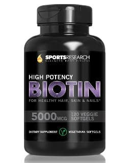Sports Research 5000mcg Per Veggie Softgel with Coconut Oil