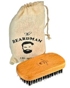 The Beardsman Best Beard and Hair Brush for Men