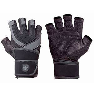 Harbinger 1250 Training Grip WristWrap Glove