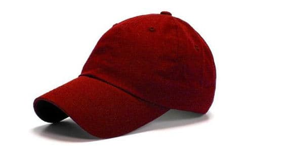MG Low Profile Velcro Adjustable Cotton Twill Cap