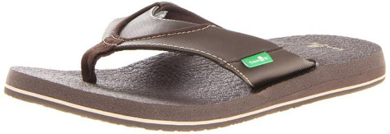 Sanuk Mens Beer Cozy Flip Flop