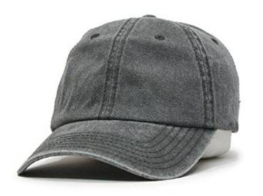 Vintage Year Plain Washed Cotton Twill Baseball Cap
