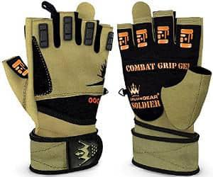 Weightlifting Gloves for Crossfit Workout Training by crown gear