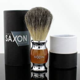 The House of Saxon 100% Real Badger Shaving Brush