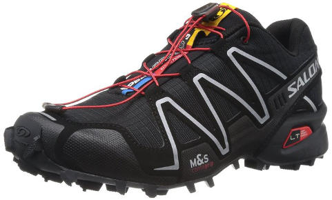 Saloman Mens SpeedCross 3 Trail Running Shoe