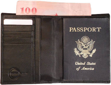 Blue Phoenix Products Travel Wallet and Passport Cover