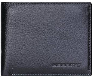 Harrm's Men's Handmade Genuine Leather Thin Bifold Wallet